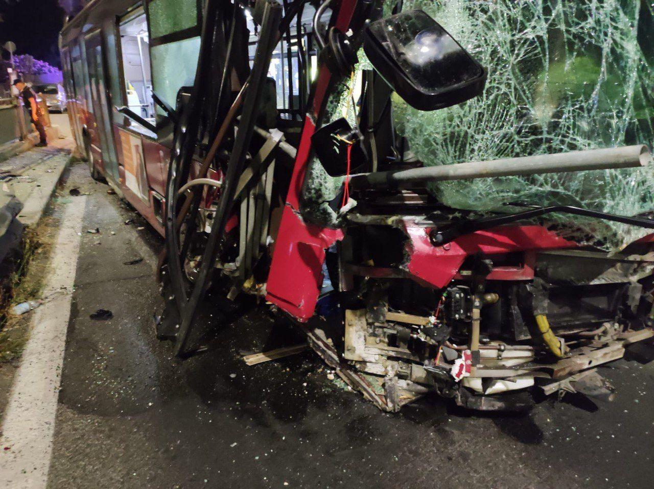 incidente bus atac