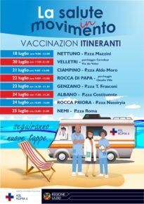 Vaccini itineranti a Pomezia e Torvaianica ad agosto: ecco quando