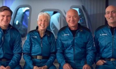 Jeff Bezos parte per lo spazio, come guardare in diretta tv e streaming il lancio del fondatore di Amazon: data, orario e video live