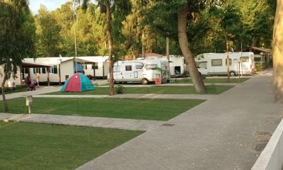 fondi cluster nel campeggio sant'Anastasia