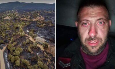 incendio Sardegna Ostuni