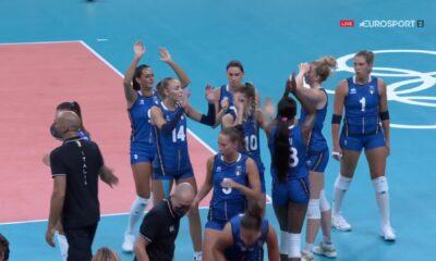 Volley Femminile Italia-Olanda