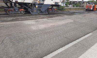 lavori strade lungomare Ardea