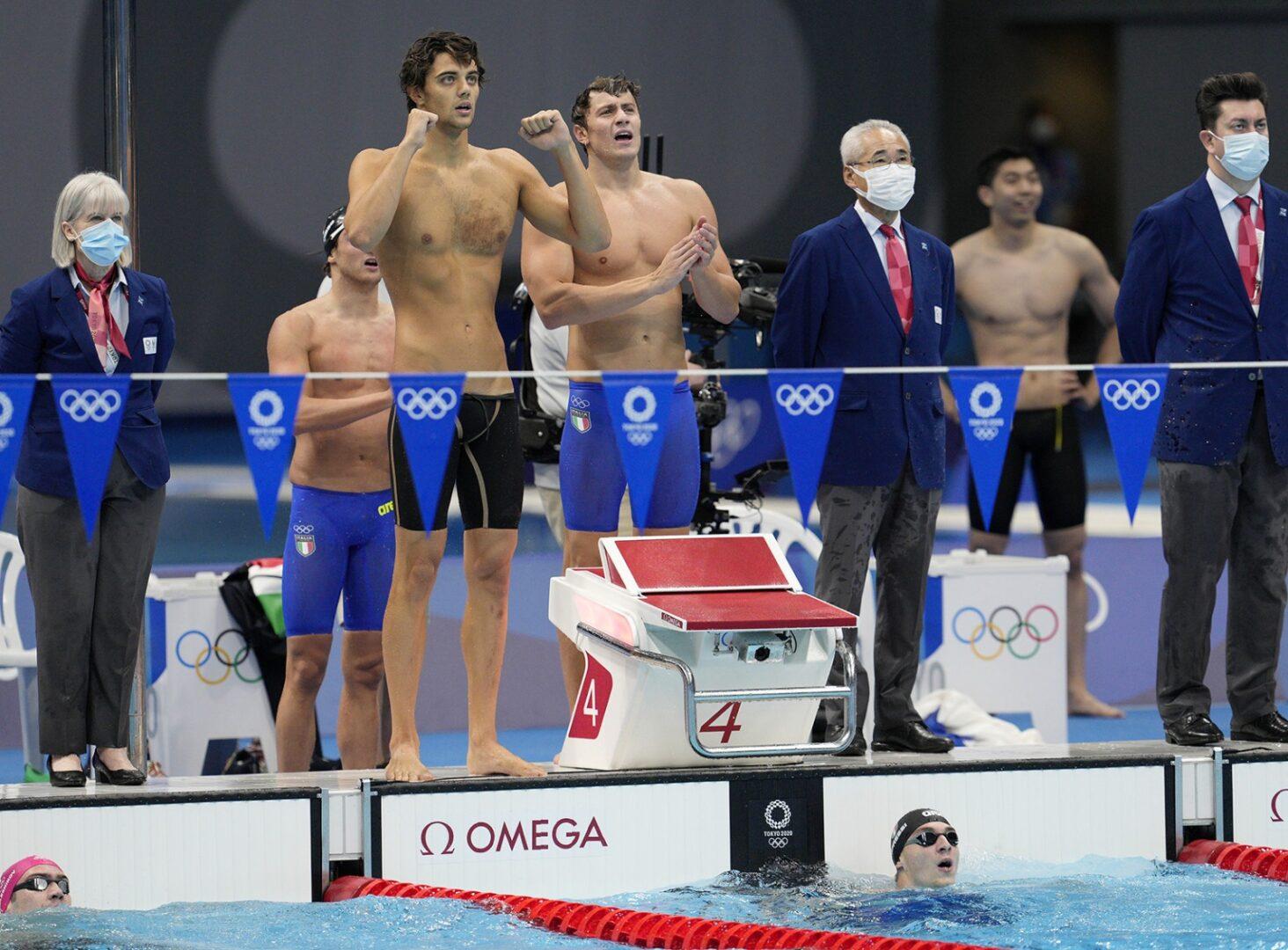 Finale 100 metri Olimpiadi 2021 Filippo Tortu