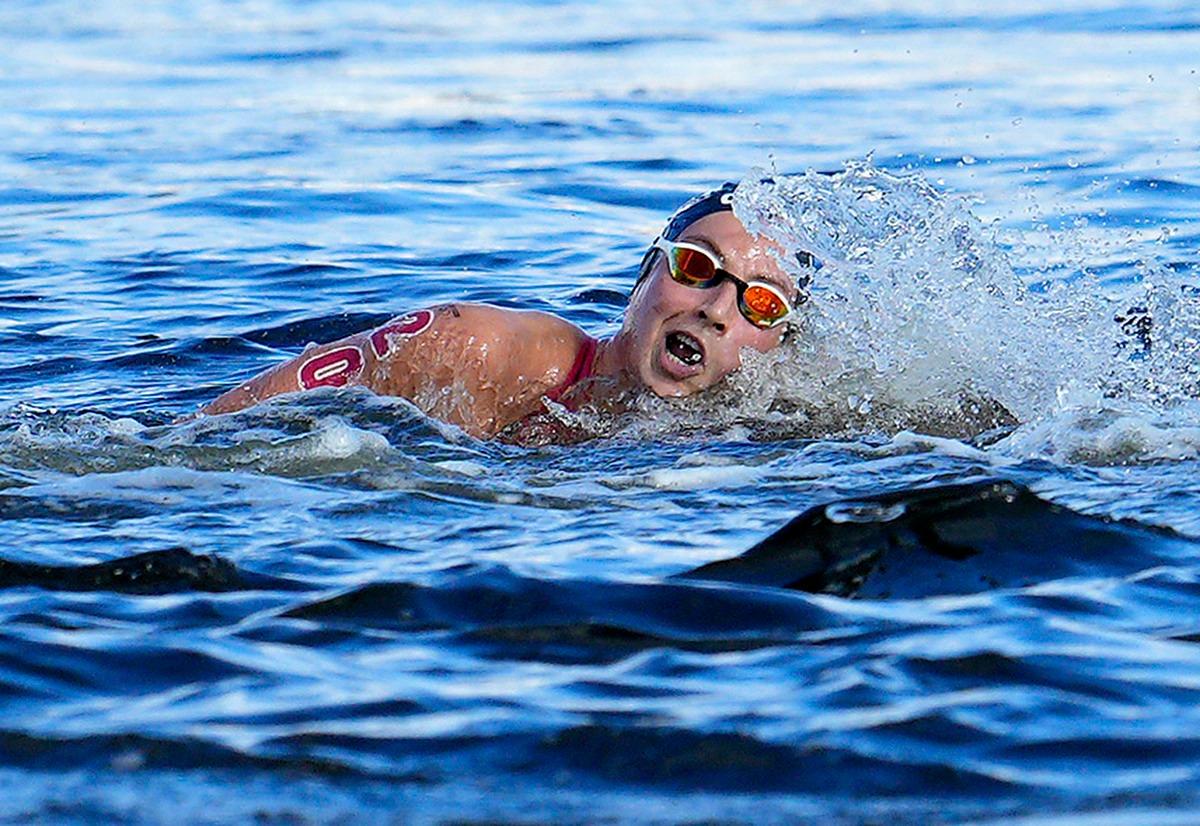 Nuoto artistico finale duo Olimpiadi 2021 4 agosto