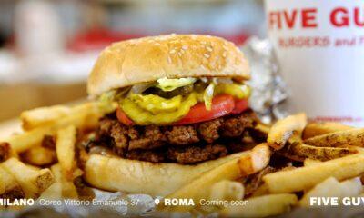 Five Guys Roma apertura
