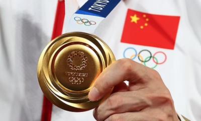 Medaglia olimpica Cina