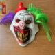 furto con maschera da clown