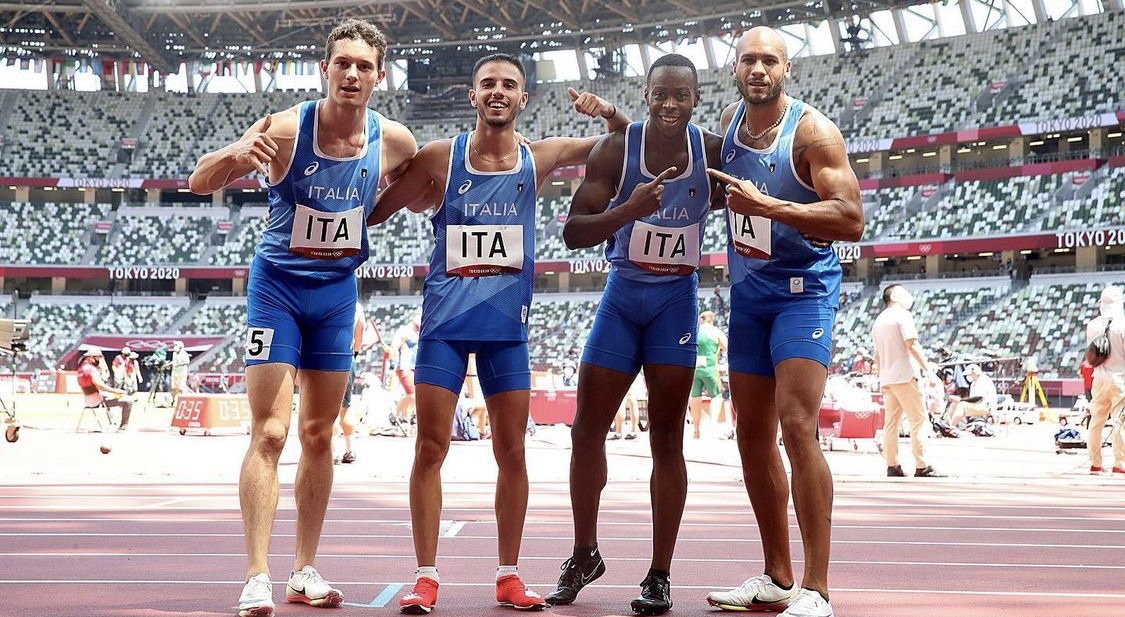 atletica leggera 4x100 oro chi è filippo tortu