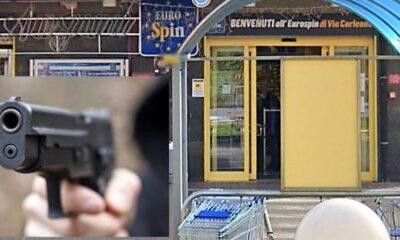No Mask entra supermercato via Corleone: fermato a Ostia