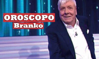 Oroscopo Branko previsioni dal 13 al 19 settembre