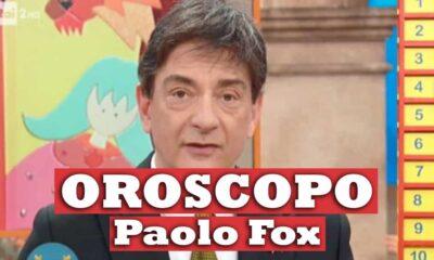 Paolo Fox oroscopo oggi e domani