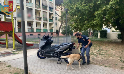Blitz Polizia Quarticciolo