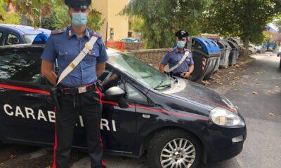 I Carabinieri intervenuti al trullo
