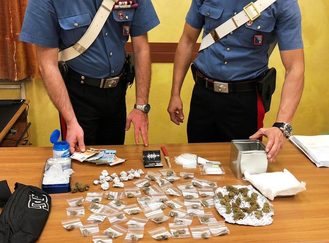 arresti droga roma