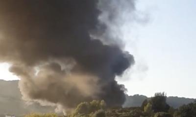 civitavecchia-camion-fiamme-autostrada-bloccata