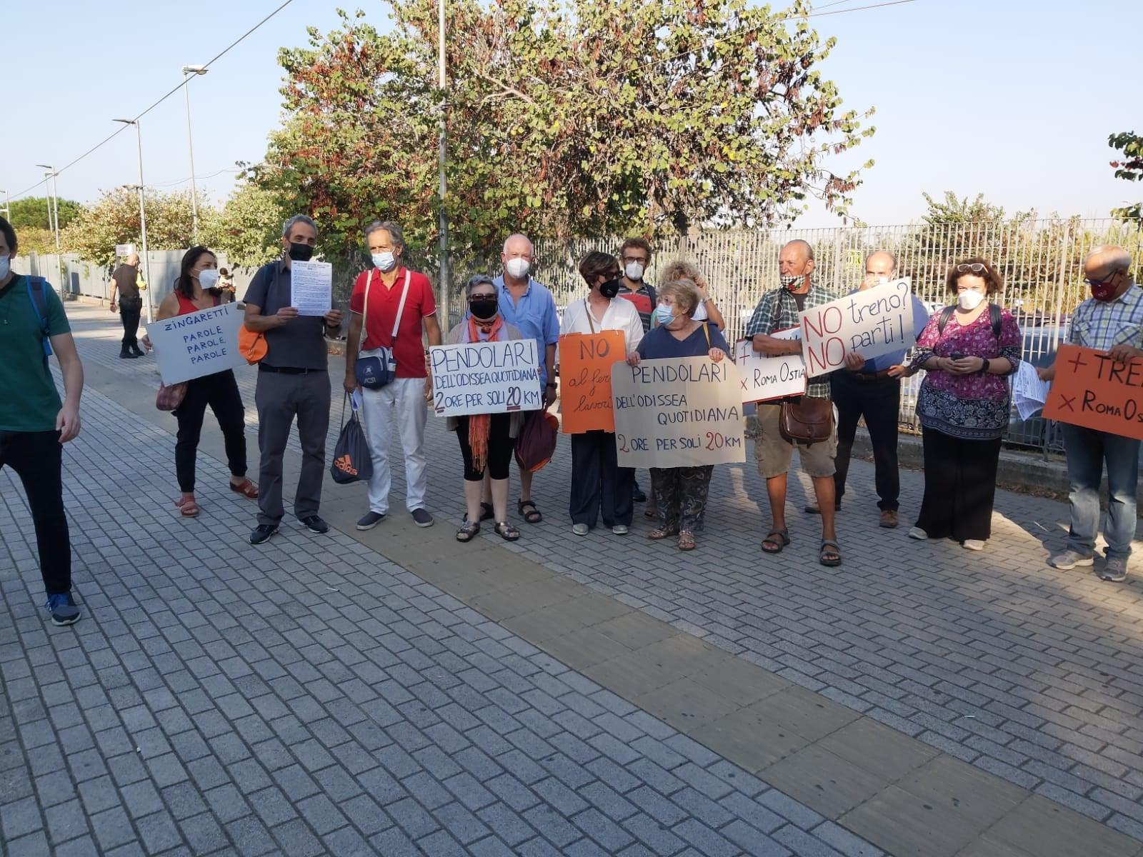proteste roma lido