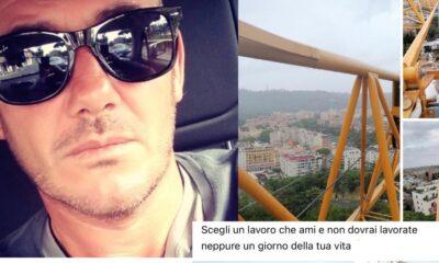 Morto Fabrizio operaio 47enne