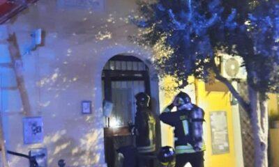 Incendio Tor Pignattara