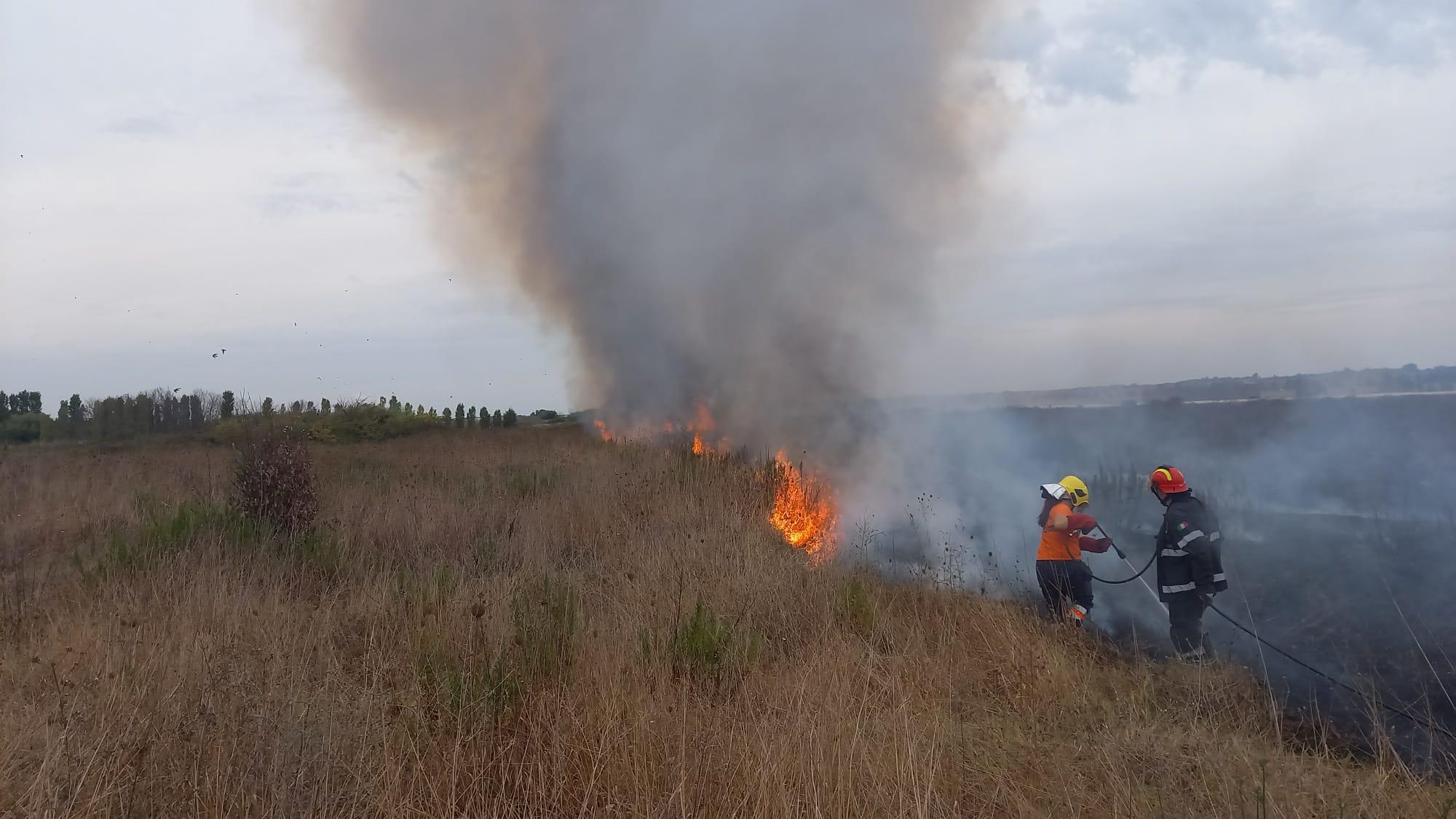 incendio Torvaianica