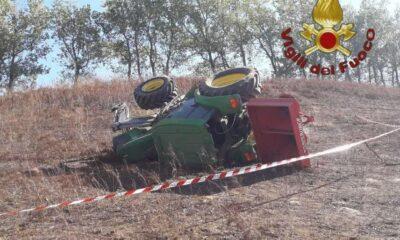 intervento artena ucciso dal trattore