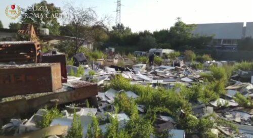 reati ambientali rifiuti periferia tor bella monaca