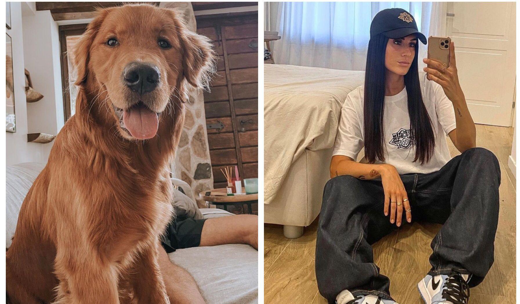 Valentina Vignali smarrisce cane a Marino