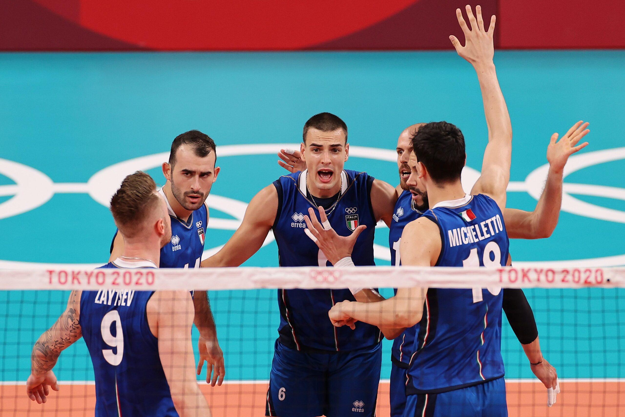 Volley maschile Italia Germania 15 settembre