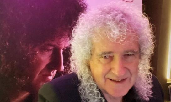 Brian May a Che Tempo Che Fa