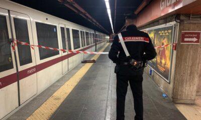 Morto 50enne metro Giulio Agricola