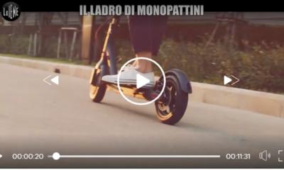 ladro seriale bici e monopattini